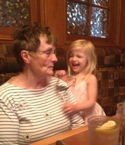 Maddie and Grandma #1
