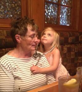 Maddie and Grandma #2